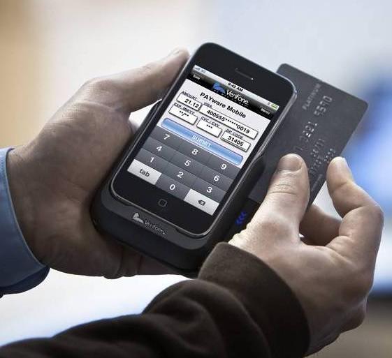 Tarjeta crédito teléfono