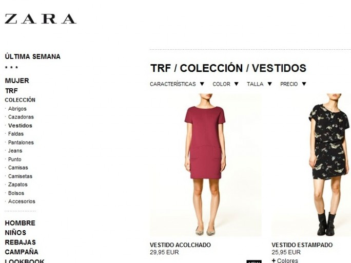 e-commerce inditex