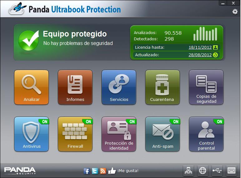 panda antivirus 2012