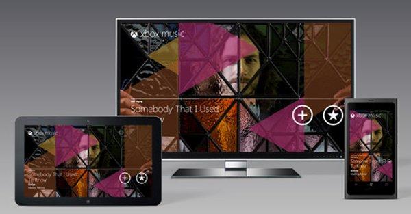 Xbox Music se integrará por defecto en ordenadores, tablets, smartphone y la consola.