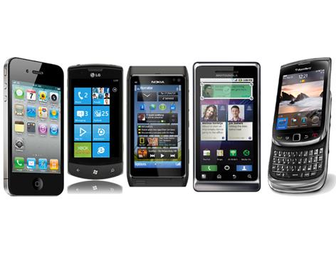 smartphones nokia samsung