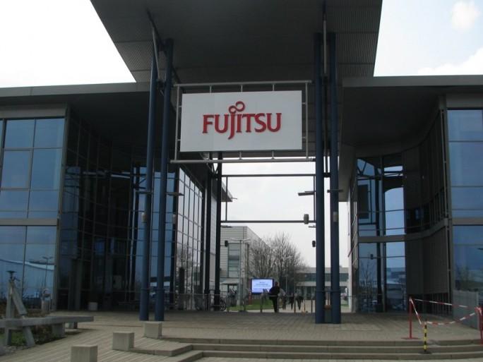 Fujitsi Headquarter logo