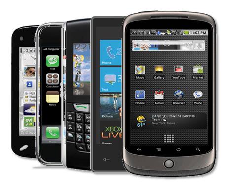smartphones-telefonos inteligente