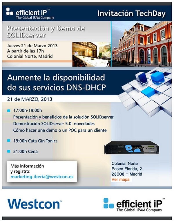 Efficient IP Westcon evento