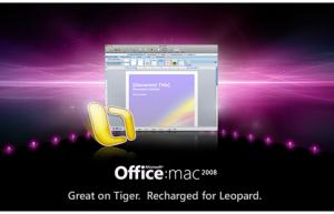 Office2008 de Microsoft