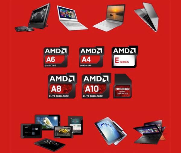 AMD Temash, Kabini, Richland