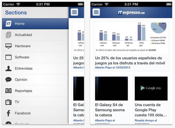 ITespresso App capturas