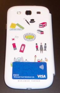 Visa contactless Sticker