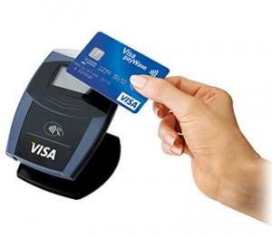 Visa contactless terminal