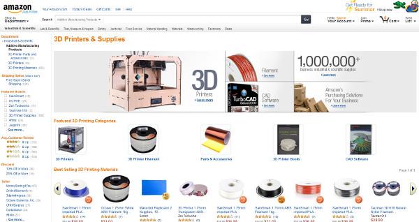 Amazon impresoras 3D