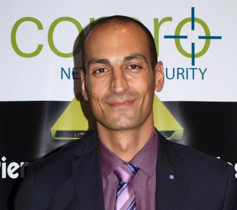 lain Karioty, Regional Sales Manager Corero
