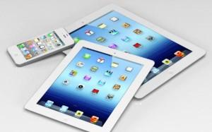 Apple ya ha variado ligeramente de sus tamaños estándar con el iPad Mini de 7,9 pulgadas y el iPhone 5 de 4 pulgadas.