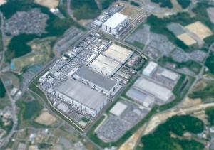 Planta de fabricación de Toshiba y SanDisk