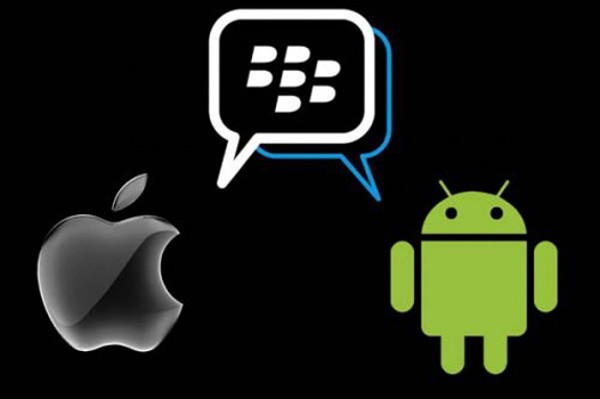 Blackberry Messenger iOS Android