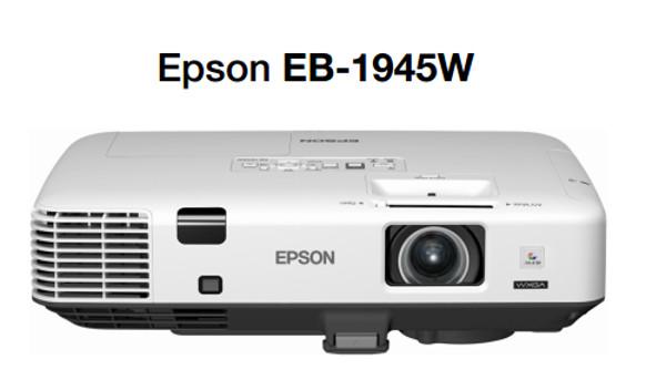 El proyector Epson EB-1945W ofrece un brillo de 4200 lúmenes.