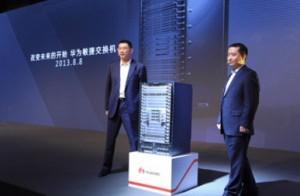 Imagen tomada durante la presención del Huawei Agile.