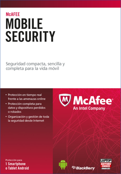 McAfee Mobile Security box