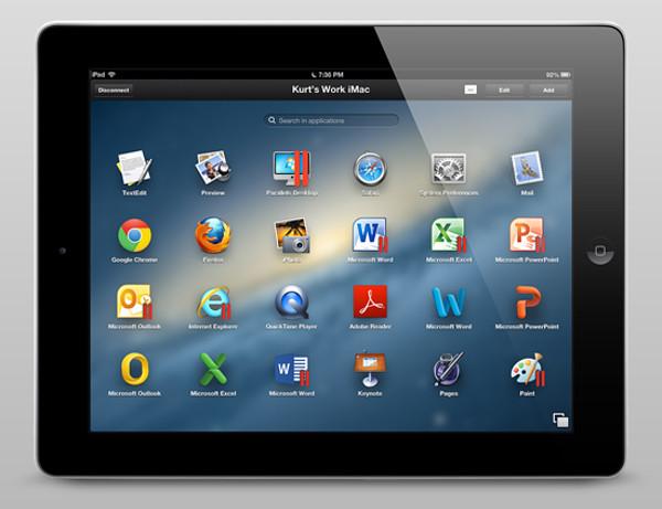 Parallels Access iPad