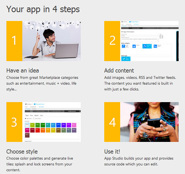Windows Phone App Studio
