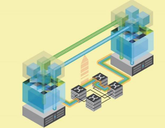 Diagrama de la red NSX presentada esta semana por VMware y de la que Cisco es partner