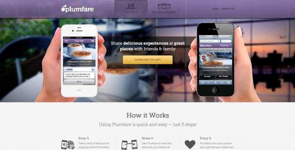 Funcionamiento de Plumfare, según su página web.