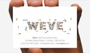 Weve es una agencia de publicidad creada por varios operadores del Reino Unido que cuenta con la ventaja de tener mucha información de los usuarios.
