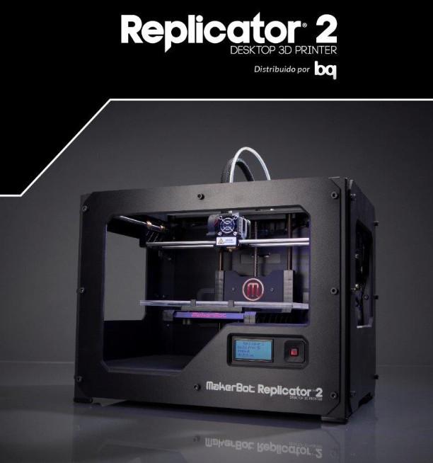 Bq makerbot Replicartor 2 impresora 3d