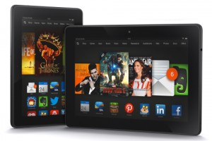 Familia de los Kindle Fire HDX presentados hoy por Amazon.