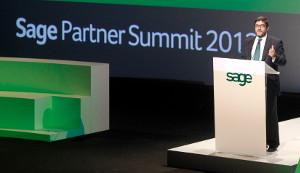 Santiago Solanas, CEO de Sage España.