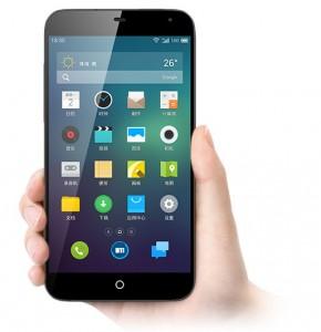 El Meizu MX3 del fabricante chino, tiene una pantalla de 5,1 pulgadas.