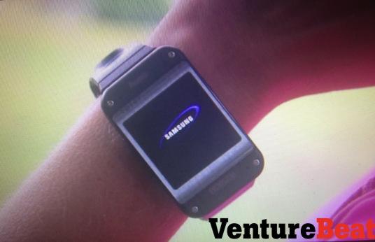 Imágenes filtradas por Venture Beat sobre el Galaxy Gear de Samsung