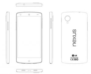 Documento filtrado sobre cómo podría ser el Nexus 5 que llegaría al mercado el 30 de octubre.