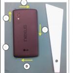 El Nexus 5 llegaría el 30 de octubre por unos 350 dólares