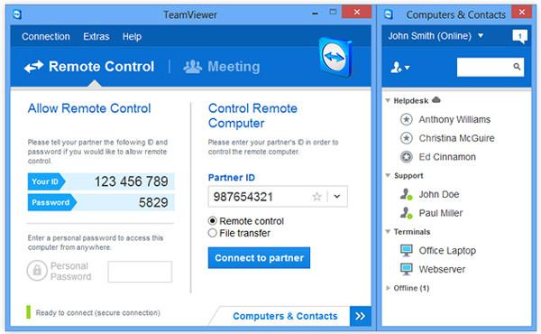 TeamViewer 9 beta