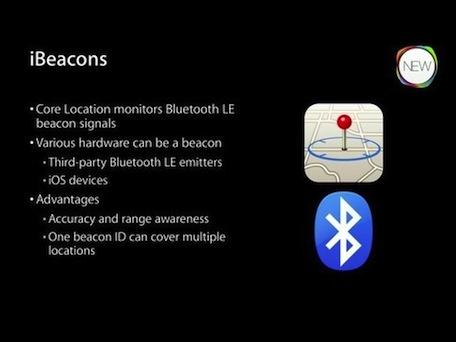 Gracias a iBeacon, con conexión Bluetooth se puede conocer la ubicación del cliente para enviar notificaciones especializadas.