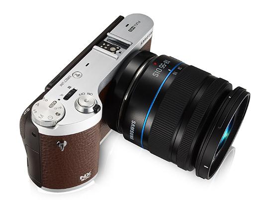 Cámara nx300 lanzada por Samsung basada en
