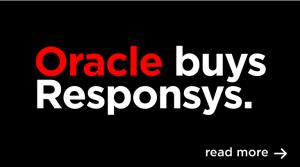 Anuncio de la adquisición que se ve enla página web de Responsys
