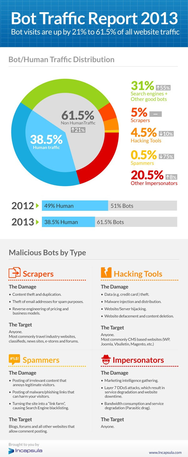 Bot Traffic Report 2013