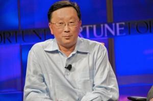 John Chen lleva desde noviembre como CEO de BlackBerry
