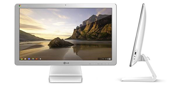 LG Chromebase in