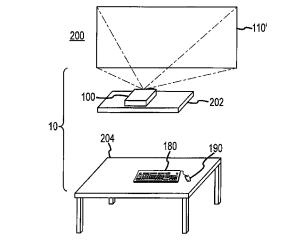 Imagen presentada por Apple sobre cómo podría ser el ordenador sin pantalla en el que la firma está trabajando.