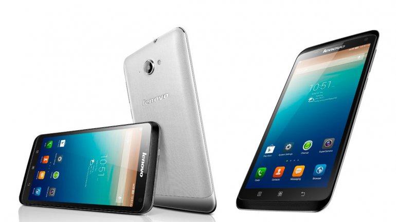 Teléfonos inteligentes Serie S presentados por Lenovo