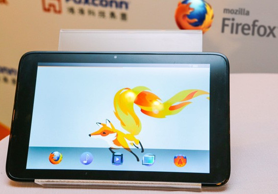 Firefox OS Foxconn new