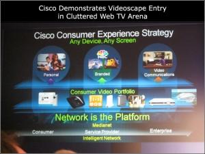 Presentación del Videoscape de Cisco en el CES