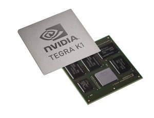 El Tegra K1 de Nvidia con 192 núcleos