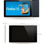 Cómo sería la primera tableta con Firefox OS creada por Mozilla y Foxconn