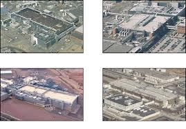 Imágenes de las obras de la planta que Intel estaba construyendo en Arizona, Estados Unidos.