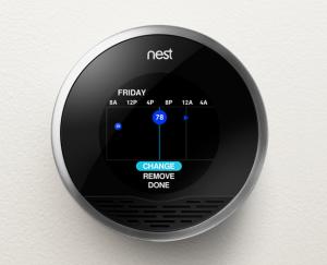 Uno de los productos estrella de Nest Labs para los hogares.