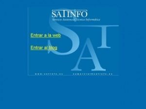 Página web del mayorista Satinfo, nuevo socio de Kasperksy