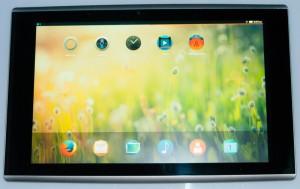 Imagen filtrado sobre cómo podría ser la tableta fabricada por Mozilla de la mano de Foxconn y basada en Firefox OS.